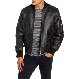 Black Pure Leather Jacket