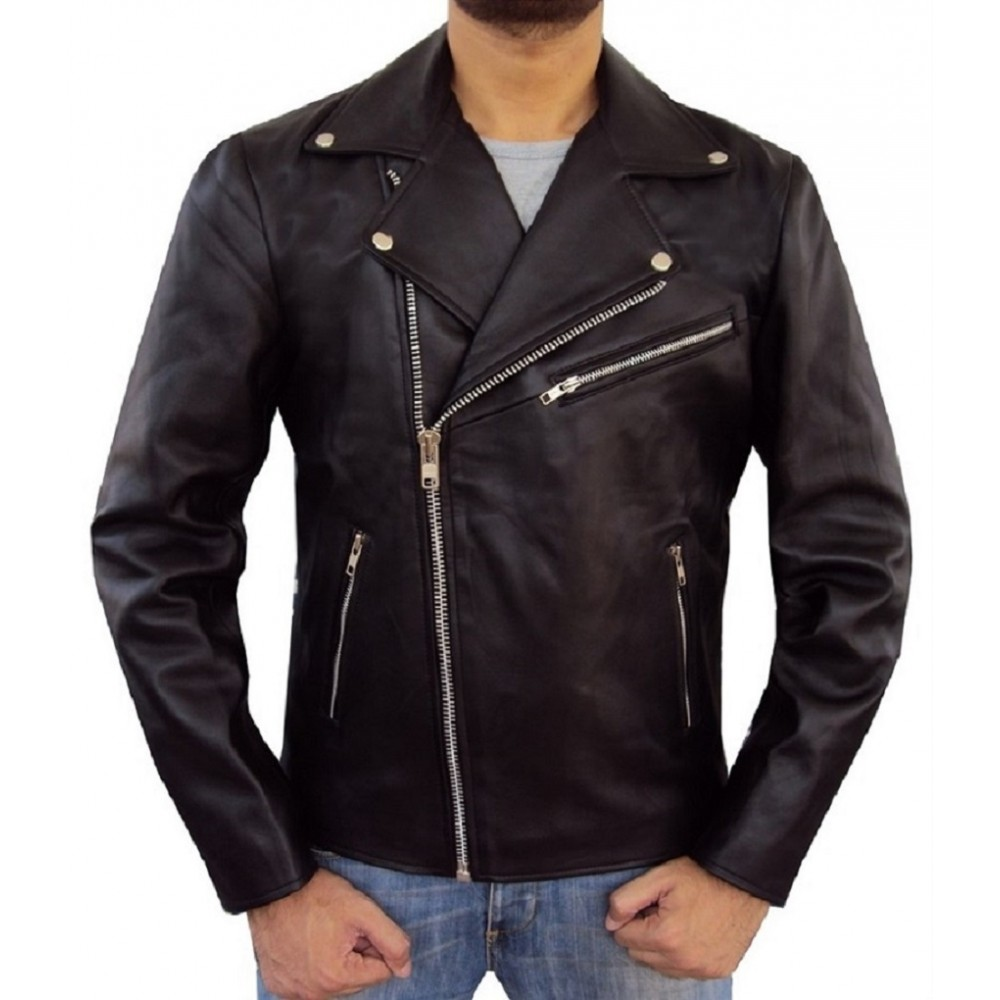 by Brando- Men's Real Lambskin Leather Jacket