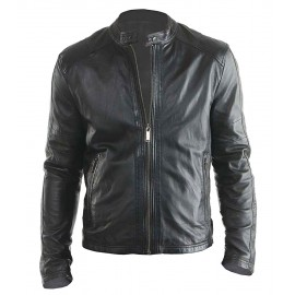 Hollywood Design- New Biker Real Leather Jacket