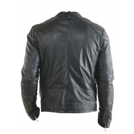 Hollywood Stylish Design- New Biker Real Leather Jacket