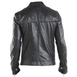 fdaa246c5edd NYC Top Grade Real Lambskin Leather Jacket in Biker Style