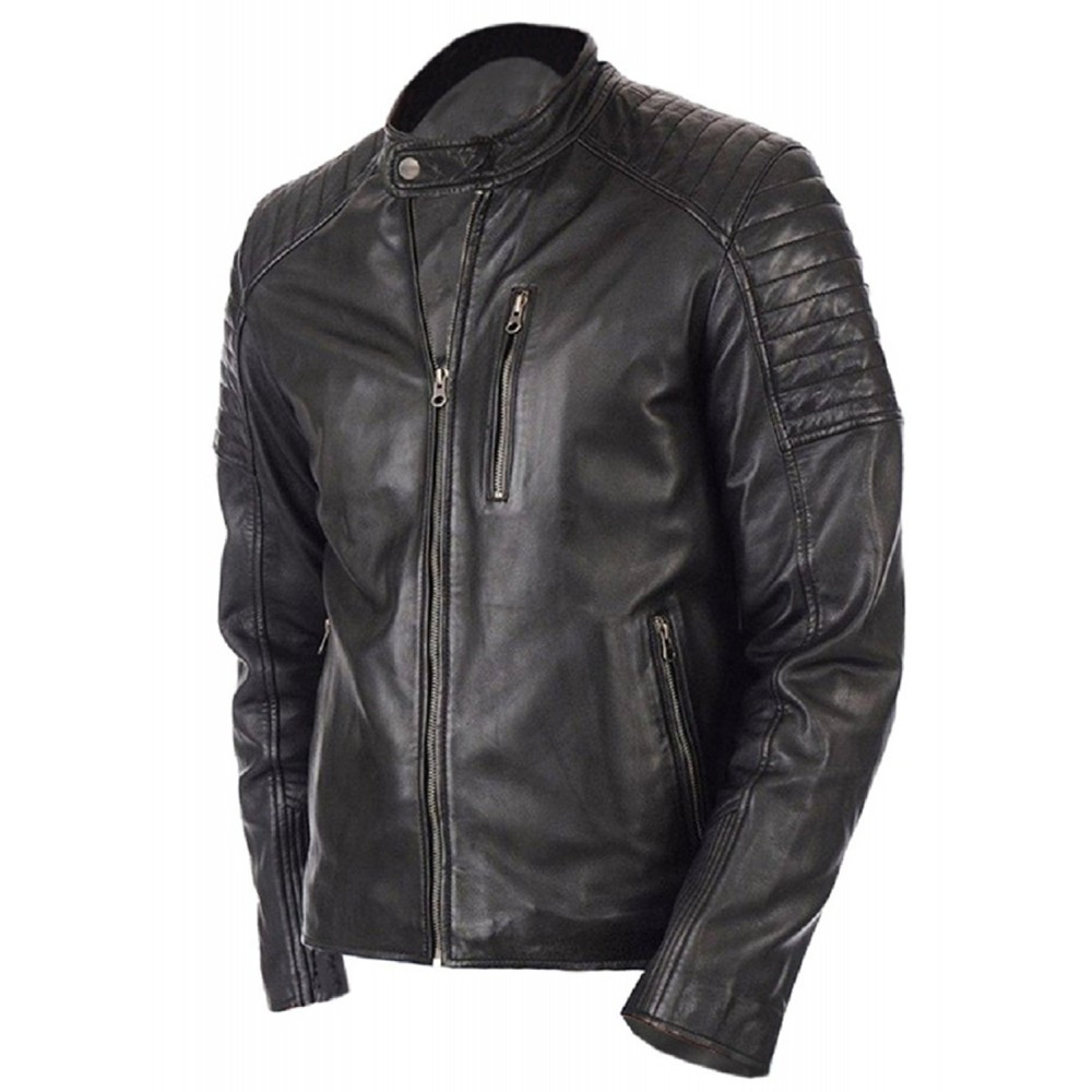 Rayo Vintage Biker Jacket -Genuine Leather Jacket For Men ...