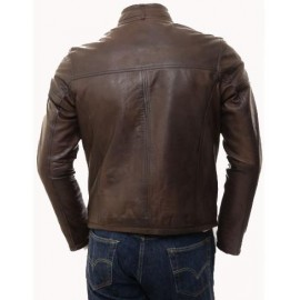RAMPER- BIKER LEATHER JACKET FOR MEN
