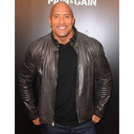 The Rock Dwayne Johnson Leather Jacket
